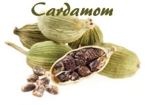 Cardamom menu