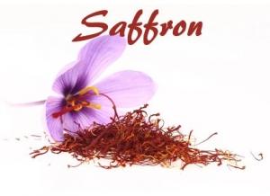 Saffron Menu